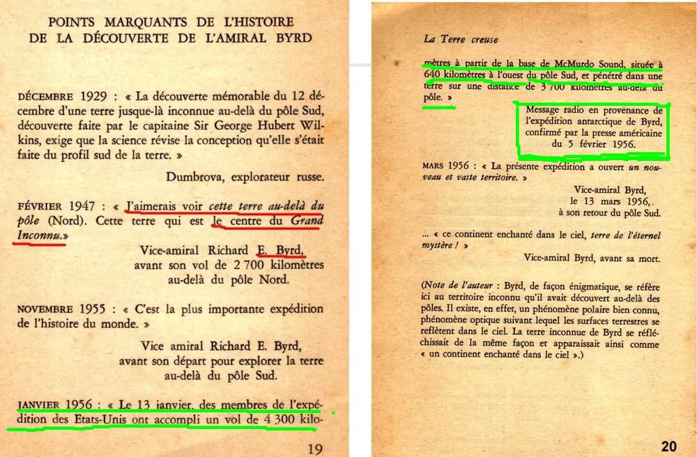 Analysons en effet plus avan, les lignes soulignées en vert dans la liste  suivante de R . Bernard 1971, déjà présentée plus haut   9120d957f36