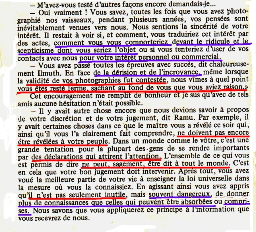 Ceci est tout aussi clair, qu Adamski ne devait pas révéler certaines  vérités qui lui avaient été confiées à l époque, et en particulier, ca7cf4893dcb