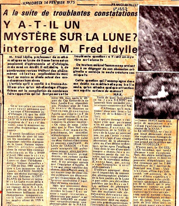 7715a254713e53 Notez-bien que France-Antilles n a pas jugé bon de publier la photo de la  superstructure en question telle que